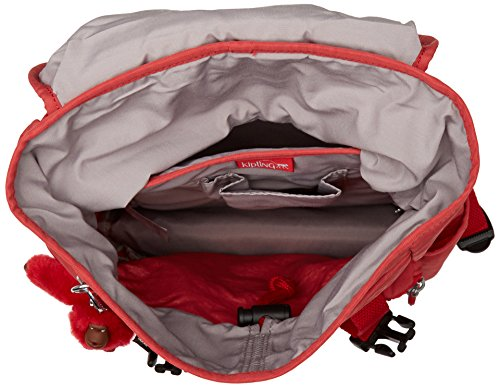 Kipling Experience S, Women's Backpack, Red (Spicy C), 15x24x45 cm (W x H x L)
