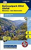 Nationalpark Eifel, Nr. 19 Outdoorkarte Deutschland 1:35 000: Free Download mit HKF Outdoor App: Wandern, Rad. Monschau, Bad Münstereifel / Wandern / ... (Kümmerly+Frey Outdoorkarten Deutschland)