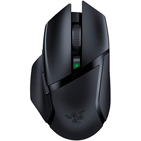Razer Basilisk X HyperSpeed - Ratón inalámbrico para juegos, Ratón Gaming con tecnología Razer HyperSpeed, inalámbrico, sensor óptico 5G y 6 botones configurables libremente, Negro