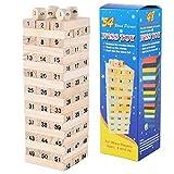 Jenga-Juguetes de Bloques de construcción para niños-Juguetes educativos para niños-Juguetes de Rompecabezas de Bloques de construcción-Juguetes de apilamiento de Bloques de construcción