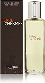Terre D'Hermes by Hermes for Men 4.2 oz Eau de Toilette Refill