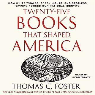 Twenty-Five Books That Shaped America audiobook cover art