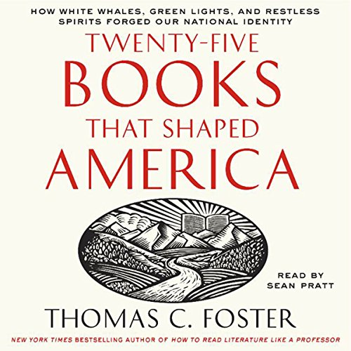 Twenty-Five Books That Shaped America audiobook cover art