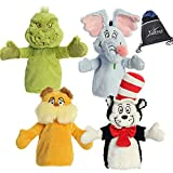 Aurora Dr. Seuss 10' Plush Hand Puppet Collection: The Grinch, The Lorax, Cat in The Hat, and Horton