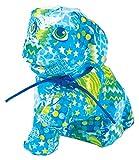 melissa & doug 40102 kit di decoupage semplice per coprire un cagnolino in cartapesta con adesivi , modelli/colori assortiti, 1 pezzo