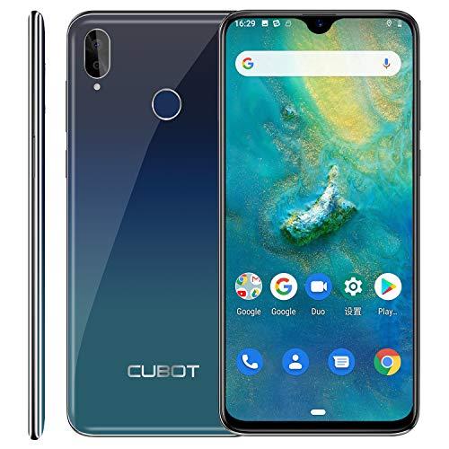 "Cubot R15 Pro 4G Smartphone ohne Vertrag Android 9.0 6.26\"" Waterdrop-Notch HD Display mit 3000 mAh Akku, 3GB Ram+32GB interner Speicher Dual SIM (tiween)"