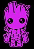Stick'emAll Baby Groot Guardians of The Galaxy Vinyl Decal (Light Pink, 10')
