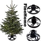FineHome Metall Tannenbaumständer Weihnachtsbaumständer Ø 40cm...