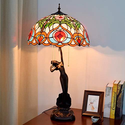 De enige goede kwaliteit decoratie liefde creatieve tiffany stijl tafellamp gekleurd glas woonkamer eetkamer eetkamer tuin Amerikaanse kunst geschenktafel licht 40 * 76cm