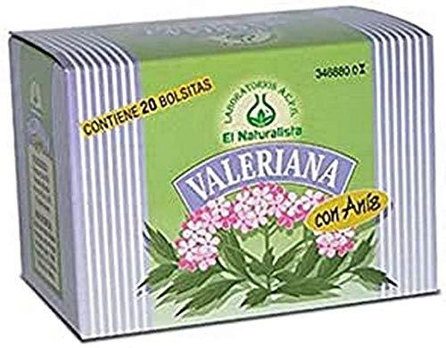 El Naturalista Valeriana Con Anis Infusion 20Bolsitas 1 Unidad 200 g