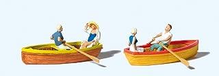 10686 Rowboats w/Figures HO Scale Figure