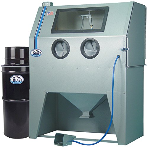 TP Tools USA 2846 Skat Blast Sandblast Sandblasting Cabinet with HEPA Vacuum, 46 W x 28 D x 28 H Work Area, Made in USA