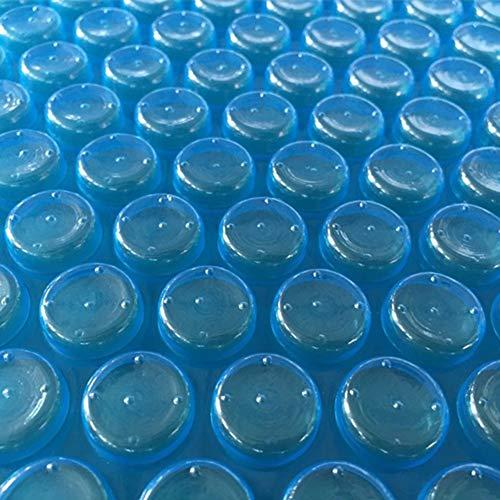 HWF Pool Cover Poolabdeckplane Rechteckige Blaue Solarabdeckung für Schwimmbad, Heizdecke für Rechteckige und Oberirdische Rechteckige Schwimmbäder Sicherheitsabdeckungen (Size : 2m x 8m(6ft×26ft))