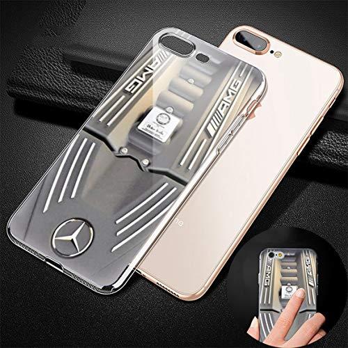 GFJGU wMG MpRCpDpS Personalized Custom TPU Transparent Phone Cover Case For Fudna iPhone 7 Plus/8 Plus