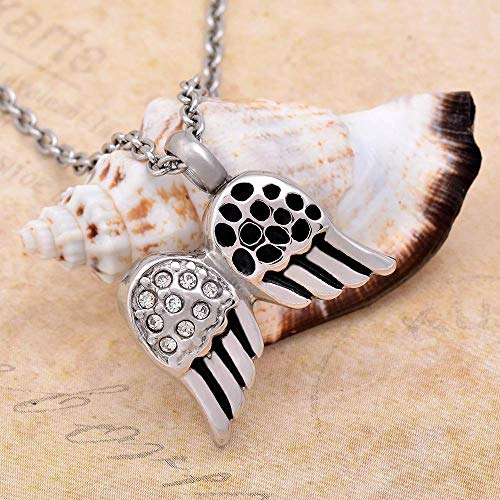 QEQEQE Necklace Ashes Jewelry Keepsakes Memorial Ash Jewelry Cremation Urn Pendant Necklace for Memorial