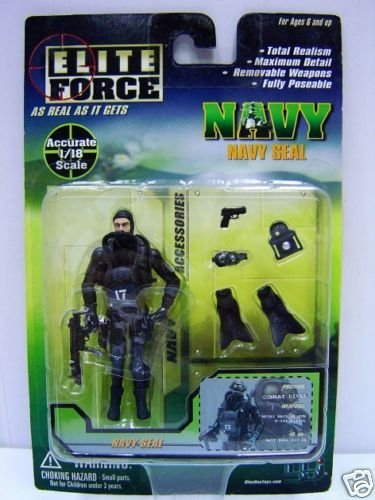 BBI Elite Force As Real As it Gets 1:18 Navy Seal Combat Diver Action Figure MOC
