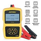 Car Battery Tester 12V Battery Load Tester AUTOOL BT360 6V-30V DC Charging Cranking Test 100-2400...