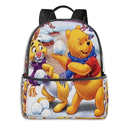 Winnie The Pooh and Eeyore - Mochila impermeable ligera para viajes, senderismo, trabajo, para hombre