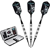 Viper Diamond 90% Tungsten Soft Tip Darts with Storage/Travel Case,...