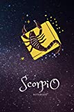 Scorpio notebook: This diary is designed for you to record whatever you want ..