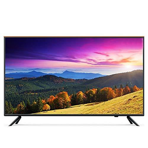 Smart TV LED HD de 43/50/55/65 Pulgadas, TV LED HD 1080P, con TV Inteligente HDMI USB VGA Incorporado, Adecuado para Uso doméstico