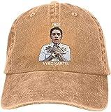 Photo de Vybz Kartel Gaza Adult Cowboy Hat Adjustable Casquette Fashion Baseball Cap Black,Natural,One Size par