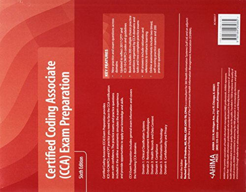 Certified Coding Associate (CCA) Exam Preparation
