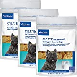 C.E.T. Enzymatic Oral Chew Dog 11-25lbs 30ct (3 Pack), Natural, Model Number: 90603-3