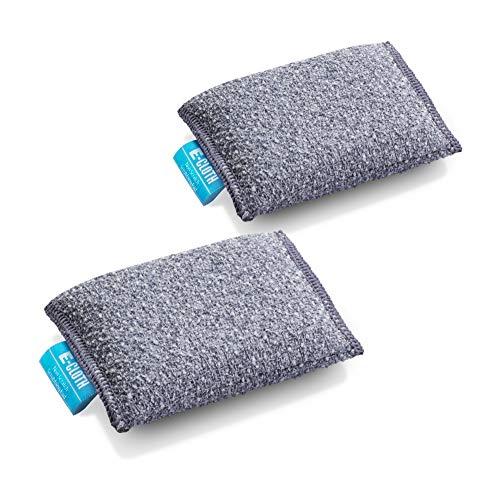 E-Cloth Non-Scratch Microfiber Scrubbing Pad, 2 Count