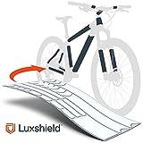 Luxshield Fahrrad Lackschutzfolie für Mountainbike, BMX, Rennrad, Trekkingrad etc. - 21-teiliges...