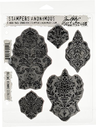 Stampers Anonymous Tim Holtz Cling Rubber Stamp Set 7