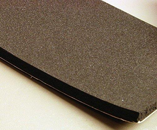 """Foam Rubber Sheets 3/8"""" x 4"""" Neoprene Foam Rubber with Adhesive Back NFR.375-4-AB, Foam Rubber Block"""