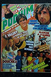 PODIUM HIT 152 OCTOBRE 1984 F. VALERY THIERRY LHERMITTE LANVIN FORBANS DOUCHKA + POSTERS MARCHE A L\'OMBRE