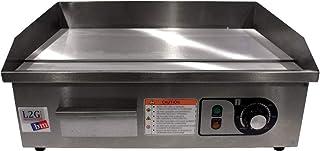 L2G - Plancha Électrique à Snacker - Plaque de Cuisson/Grill Viande - Dessus Chrome - Surface Cuisson 540 mm