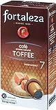 Café FORTALEZA - Cápsulas de Café con Aroma Toffee Compatibles con Nespresso - 10 cápsulas