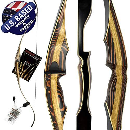 TigerShark ONE PIECE Recurve Bow by Southwest Archery...
