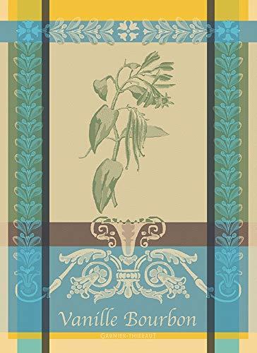 Garnier Thiebaut Vanille Bourbon Eden Küchentuch, 55,9 x 76,2 cm, 100% Baumwolle