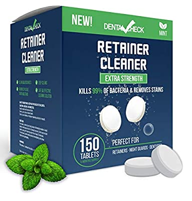 Retainer and Denture Cleaner