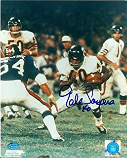 gale sayers autographed picture