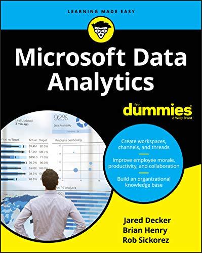 Microsoft Data Analytics For Dummies