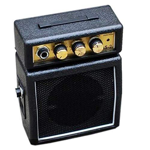 ZXCV Mini Amplificador de Guitarra portátil pequeño Altavoz Accesorios para Instrumentos Musicales (Enviar un Regalo Sorpresa)