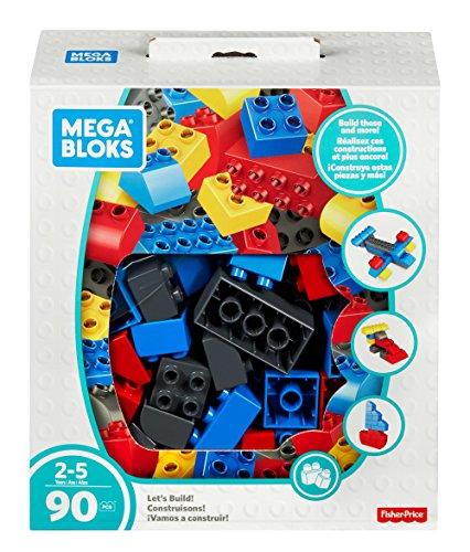Mega Bloks  �Vamos a construir  90 Bloques