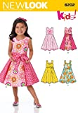 Simplicity Creative Patterns New Look 6202 Child's Dress and Sash, A (3-4-5-6-7-8)