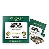 Té blanco ecologico del Himalaya imperial 15 Bolsitas de té, pirámide de hoja larga Bolsas de té...
