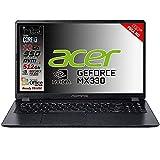 Notebook SSD slim Acer Intel i3 10 th, RAM 12 GB, SSD 512GB m2, display 15.6 Full hd led, Svga MX 330 2GB, 3 USB, Wi-Fi, hdmi, BT, Win 10 Pro, Office Pro 2019, Pronto all'Uso, Garanzia Italia