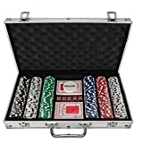 300 Piece Poker Chip Set in Aluminium Case by Gift Universe Ltd
