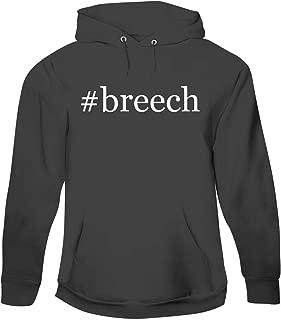 #Breech - Men's Hashtag Pullover Hoodie Sweatshirt