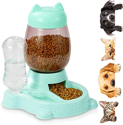 Erebus Dog Automatic Feeder Food Feeder Water Dispenser 2 in 1 Hight Quality Plastic Food Bowl product image