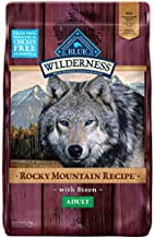 Blue Buffalo Wilderness Rocky Mountain Recipe High Protein, Natural Adult Dry Dog Food, Bison 22-lb