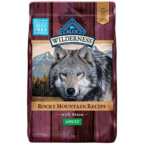 Pienso seco Wilderness Rocky Mountain con bisonte para perros adultos sin grano Blue Buffalo